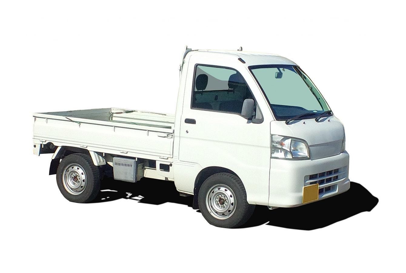 平ボディのトラック